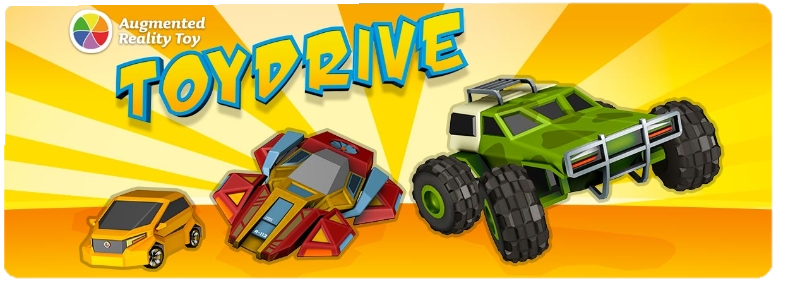 Toy drive - Discover Limitless Fun Driving in the Real World with  Augmented Reality